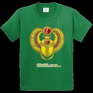 MiniMonos Golden Scarab T-shirt